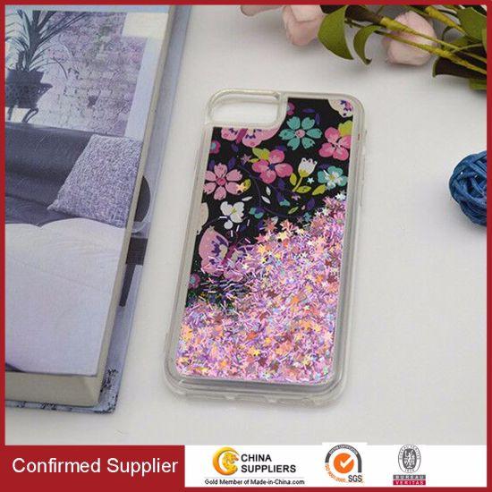 Meteor Shower Liquid Bling Phone Case Sparkle Glitter Cases for Samsung
