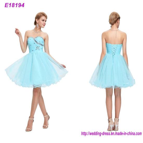 China Custom Made Sleeveless Beaded Appliques Lady Dress Evening ...