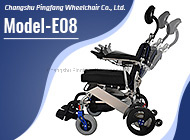 Aluminum Alloy Anti-Backward-Tipping System Disabled E-Scooter Model E08 with Customized Logo Ce&ISO