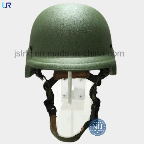 Military Nij Iiia Pasgt Kevlar/Polyethylene Combat Ballistic Bulletproof Helmet