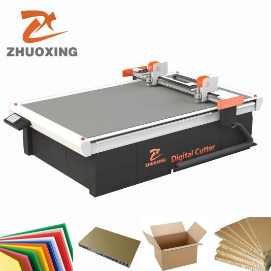 CNC Digital Box Cutting Machine Making Machine for Corrugated Grey Board, Carton, Cardboard Sample Cutting Cutter Plotter Flatbed with Ce