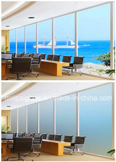 China Best Quality White Self Adhesive Switchable Smart Film for Glass Partition pictures & photos