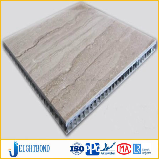 Lightweight Fiberglass Stone Honeycomb Panels for Exterior Wall Decoration pictures & photos