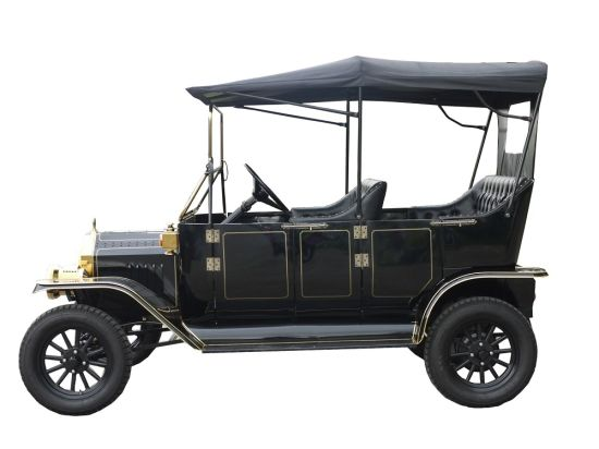 Hot Sale Elegant Design Resort Antique Electric Club Car Passenger Car pictures & photos