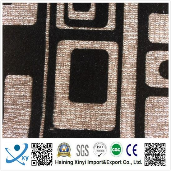 Polyester Linen Upholstery Fabric Sofa