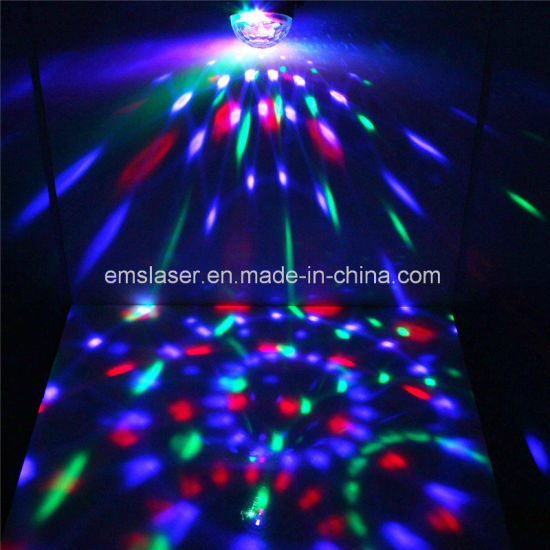 Mini Disco Party Light LED RGB Crystal Magic Ball Light pictures & photos