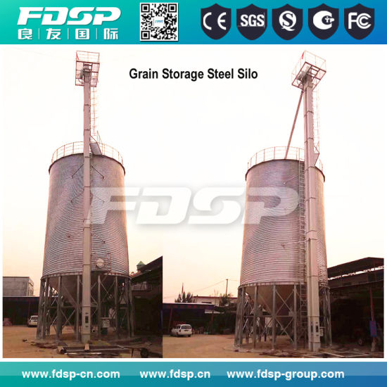 Wide Capacity Paddy Rice Storage Silo Tank Price pictures & photos