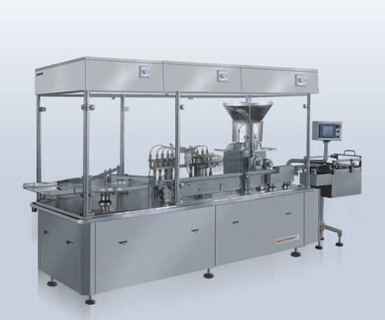 Vitaminas Solution Filling, Rubber Pluging and Capping Machine