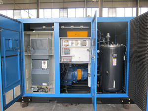 Variable Speed Drive Air Screw Oil Lubricated Compressor (KD55-13INV) pictures & photos