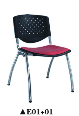Wonderful Whosale Plastic School Chair with Writing Pad and Bookcase pictures & photos