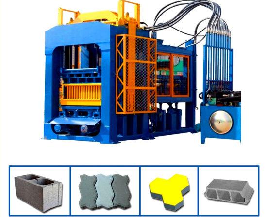 High Performance Qt10-15 Widely Used Block Machine Automatic Brick Making Machinery in Bangladesh