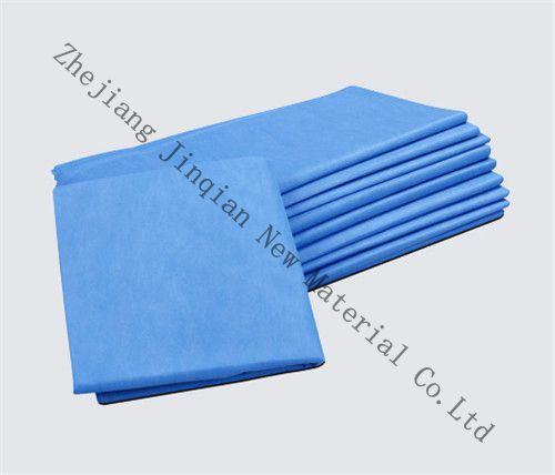 Custimized 10g Blue &White PP Nonwoven Fabric for Surgical Cap pictures & photos