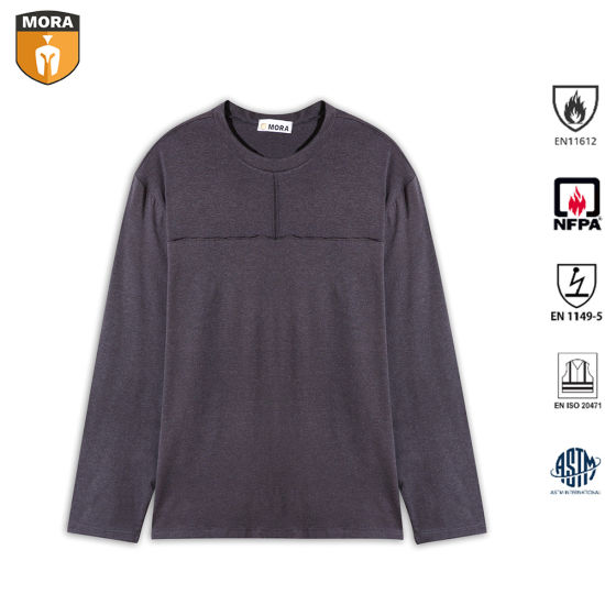 Safety Outdoor Flame Resistant Henley Shirts pictures & photos