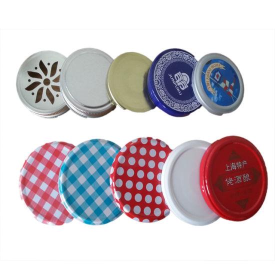 Long-Skit Metal Cap for Food Jar