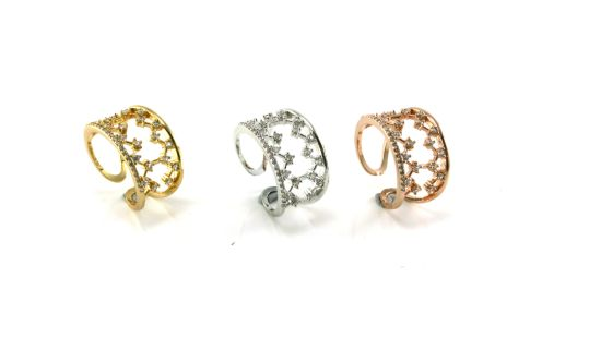 Fashion Jewelry for Lady Beatiful Crown Design Ring 925 Sterling Silver CZ Ring R10496, R10463 pictures & photos
