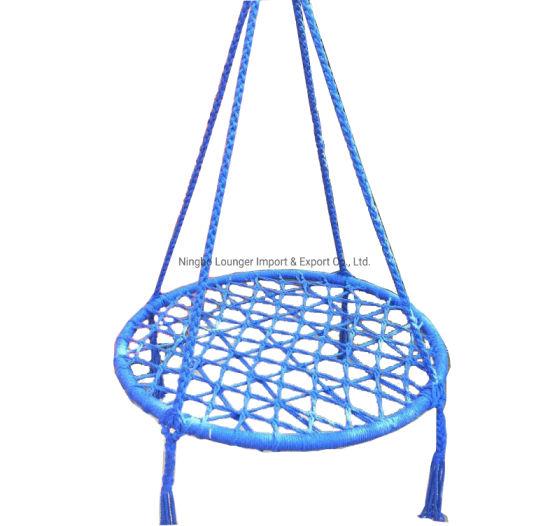 European Style Cotton Rope Patio Swing