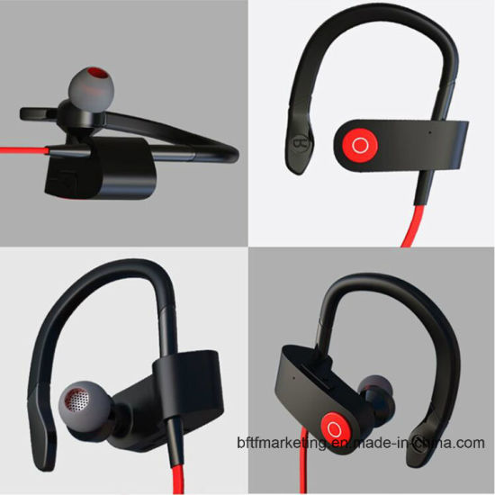 Bluetooth Headphones Wireless Stereo Earphones Sport-Running Handsfree with Mic for Ios Android Smartphone pictures & photos