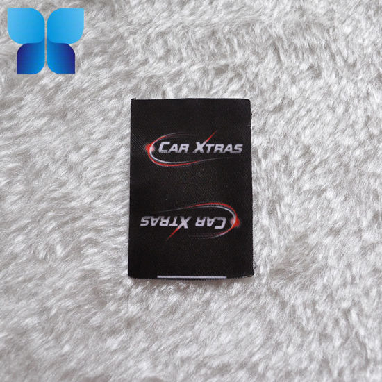 Wash Care Label Printing Non Nylon for Clothing Label