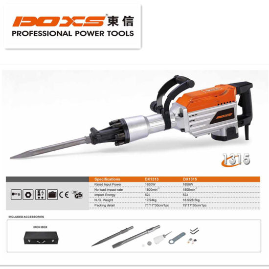 Construction Industry Demolition Hammer Electric Concrete Breaker Tool