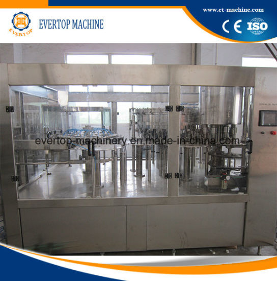 Automatic Carbonated Drinking Filling Machine/Equipment/Production Line pictures & photos