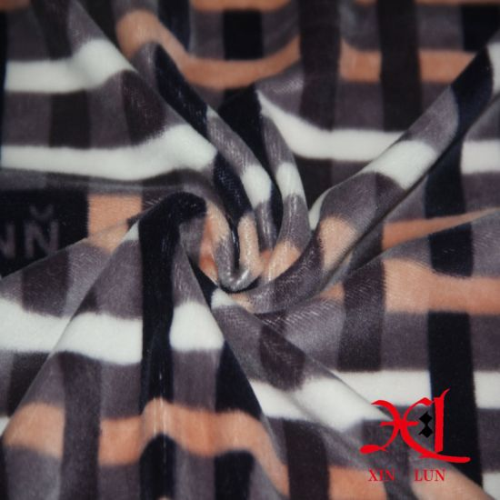 Flannel Fabric for Pajamas/Cotton Flannel/Brushed Fabric pictures & photos