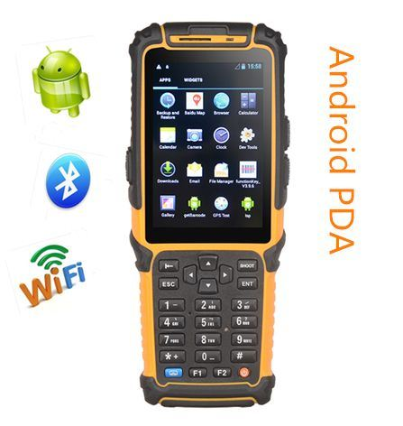 WiFi 3G Bluetooth RFID Handheld PDA Scanner Ts-901, with IP64 Rating pictures & photos