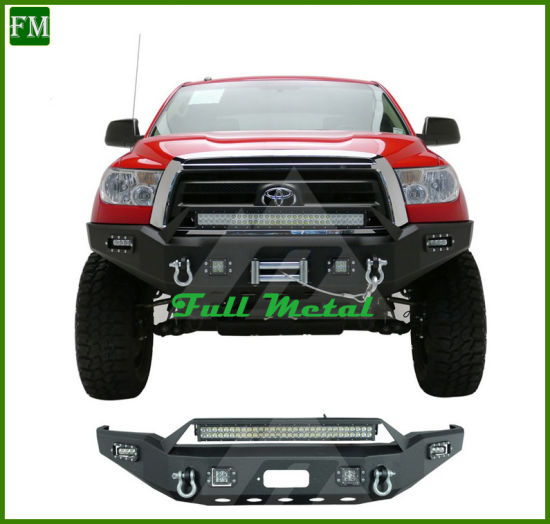 Front Bull Bar for Toyota Tundra Pickup Front Winch Bumper pictures & photos