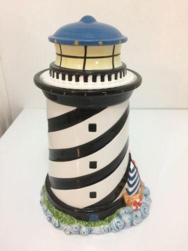 Home Decor Light House Ceramic