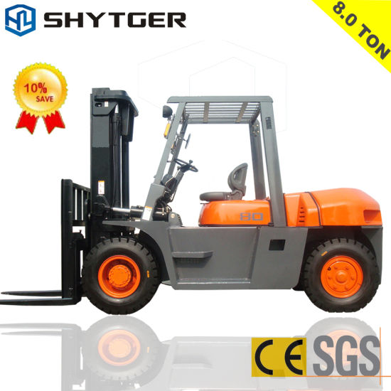 8-10ton Diesel Forklift pictures & photos