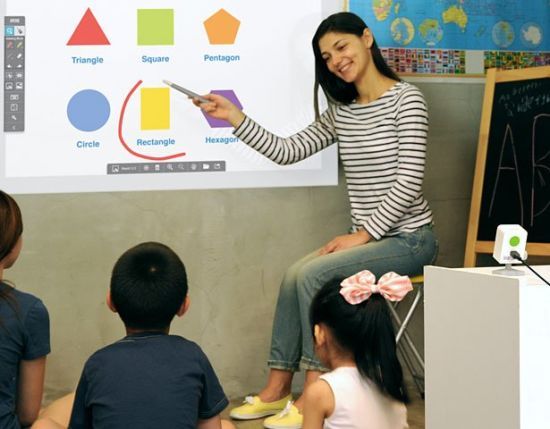 Mini Dual Writing Interactive Whiteboard for Business with Education Tools