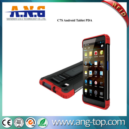 China C7s Android Handheld 2D Barcode Scanner PDA RFID