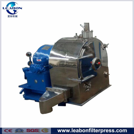Food Salt Separator Stainless Steel Double Stage Pushing Centrifuge