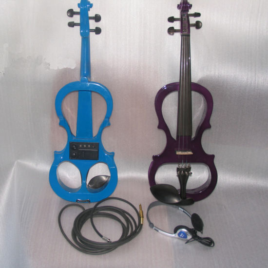 Frame Shaped Electric Violin pictures & photos