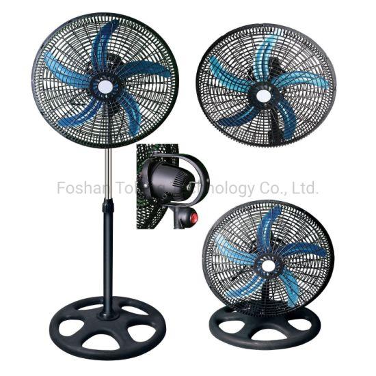 """360 Degree Swing 18"""" Industrial Fan 3 in 1 Powerful Industrial Fan Electric Stand Fan"""