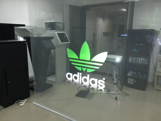 3D Holographic Transparent Rear Projection Film for Window Projection /Exhibition