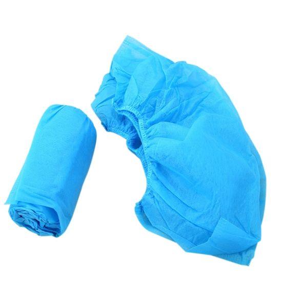 Wholesale Disposable PP Non-Woven Fabric Shoe Cover Waterproof Anti Slip Plastic Shoe Cover