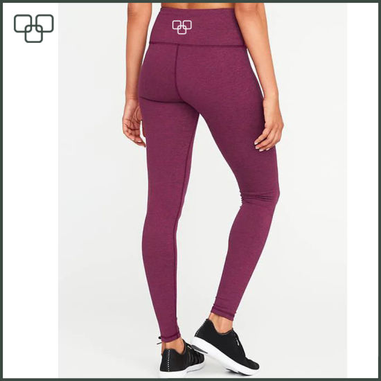 High Waist Compression Yoga Pants Workout Turnout Tights