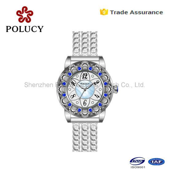 573fa6ef3b4 Luxury Stainless Steel Women Wrist Watch Japan Movement Quartz Watches -  China Japan Movt Quartz Watch Stainless Steel Back