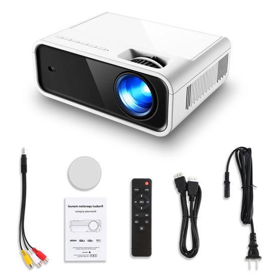 Home Theater Portable Mini Multimedia Projector Laser Projector 4K Mobile Projector