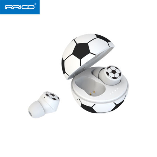 2020 Football Gift Style True Wireless Sound & Calls Bluetooth 5.0 Ipx6 Waterproof Earbuds pictures & photos