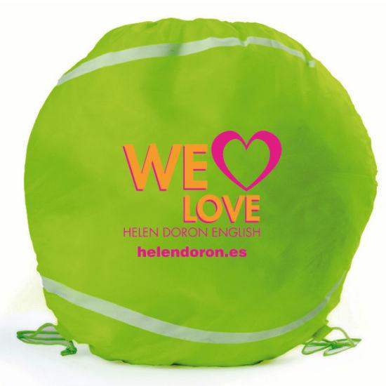 Promotional Wholesale Custom Eco Sports Cinch Drawstring Backpack Bag