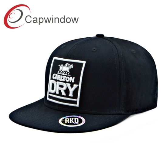 Capwindow Carlton Dry Hip Hop Snapback Cap with Embroidery