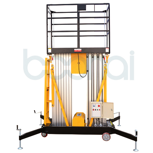 Double Mast Aerial Work Platform Max Height (8m) pictures & photos