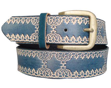 Lady Embossed Fashion PU Belt Ky1631