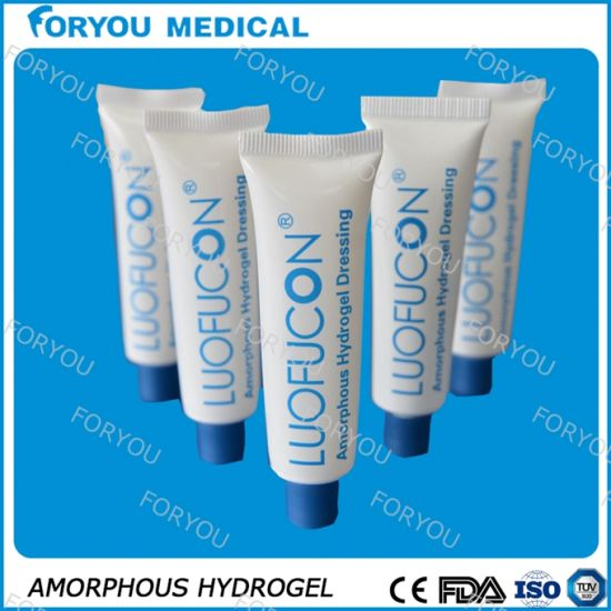 Amorphous Medical Disposables Hydrogel Dressing Hydrogel Dressing pictures & photos