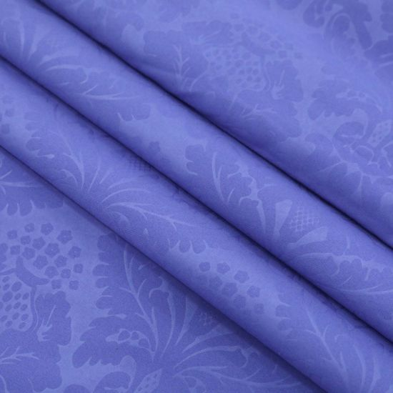 New Arrival Solid Dyed Embossed 100% Polyester Fabric for Beddingsets