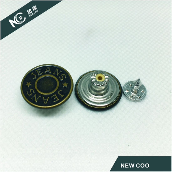 Factory High Quality Eco-Friendly Metal Jeans Button pictures & photos