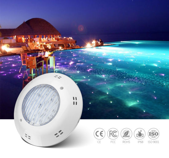 20W 12V IP68 Wall Mounted LED Swimming Poo Light for Concrete Pools