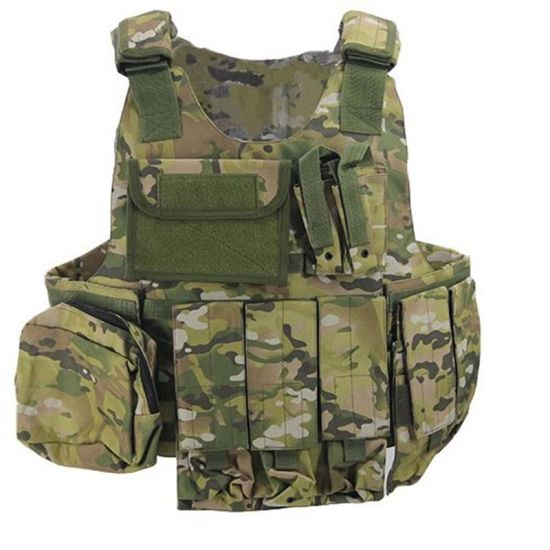 Body Armor Bulletproof Vest for Military and Police Law Enforcement