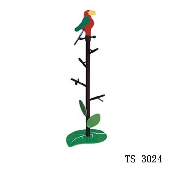 Kid Furniture Bird Wooden Clothes Rack pictures & photos